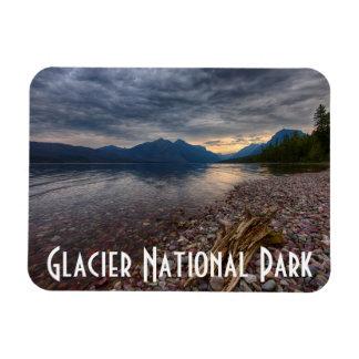 Los E.E.U.U., Montana, Parque Nacional Glacier 1 Imán Rectangular
