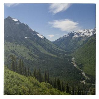 Los E.E.U.U., Montana, Parque Nacional Glacier, Azulejo Cuadrado Grande