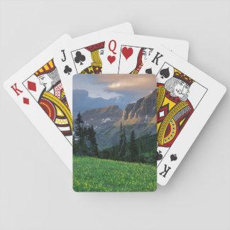 Los E.E.U.U., Montana, Parque Nacional Glacier, Baraja De Póquer