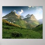 Los E.E.U.U., Montana, Parque Nacional Glacier Impresiones
