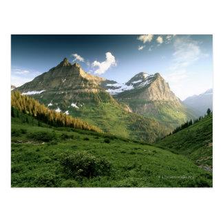 Los E.E.U.U., Montana, Parque Nacional Glacier Postal