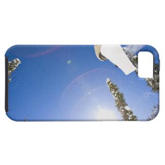 Los E.E.U.U., Montana, pescado blanco, snowboard iPhone 5 Carcasa