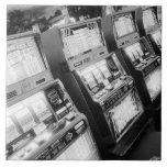 Los E.E.U.U., Nevada, Las Vegas: Del casino máquin Azulejo Cuadrado Grande