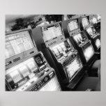 Los E.E.U.U., Nevada, Las Vegas: Del casino máquin Posters