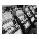 Los E.E.U.U., Nevada, Las Vegas: Del casino máquin Póster