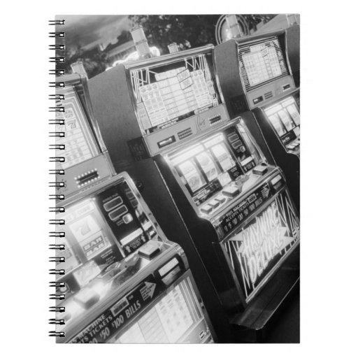 Los E.E.U.U., Nevada, Las Vegas: Del casino máquin Spiral Notebook