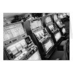 Los E.E.U.U., Nevada, Las Vegas: Del casino máquin Tarjeta De Felicitación