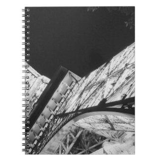 Los E.E.U.U., Nevada, Las Vegas: Torre Eiffel/Parí Cuaderno