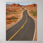 Los E.E.U.U., Nevada, valle del fuego, camino del  Impresiones