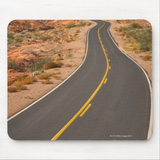 Los E.E.U.U., Nevada, valle del fuego, camino del  Alfombrillas De Ratón
