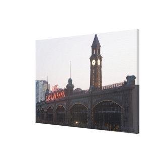 Los E.E.U.U., New Jersey, Hoboken, vieja estación  Impresión En Lona Estirada
