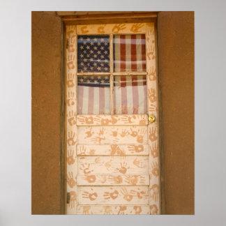 Los E.E.U.U., New México, Taos: Pueblo del indio d Poster