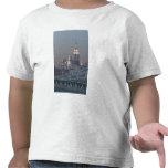 Los E.E.U.U., New York City, vista del puente de Camisetas