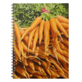 Los E.E.U.U., New York City, zanahorias para la Libro De Apuntes