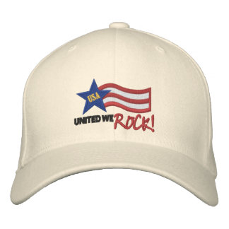 Los E.E.U.U. nos unieron oscilan el gorra del Gorras De Beisbol Bordadas