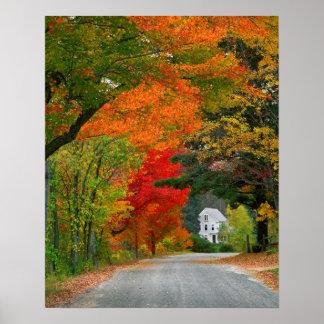 Los E E U U Nueva Inglaterra New Hampshire Impresiones