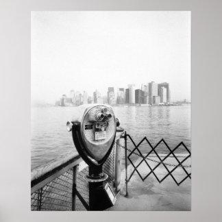 LOS E.E.U.U., NUEVA YORK: Espectador escénico de N Poster
