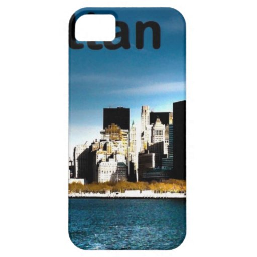 Los E.E.U.U. Nueva York Manhattan (St.K) iPhone 5 Case-Mate Carcasa