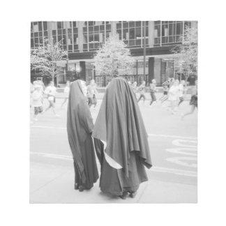 LOS E.E.U.U., NUEVA YORK: Monjas de New York City  Blocs De Notas