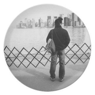 LOS E.E.U.U., NUEVA YORK: New York City a bordo de Platos Para Fiestas
