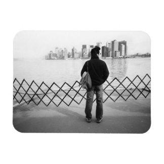 LOS E.E.U.U., NUEVA YORK: New York City a bordo de Rectangle Magnet