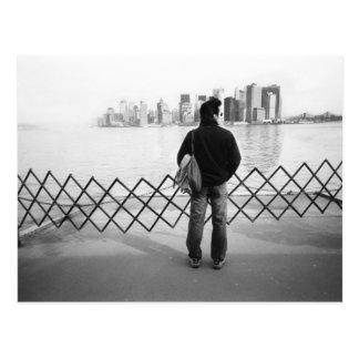 LOS E.E.U.U., NUEVA YORK: New York City a bordo Postales