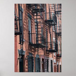 Los E.E.U.U., Nueva York, New York City, Brooklyn: Póster
