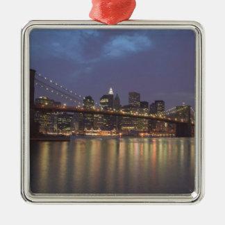 Los E.E.U.U., Nueva York, New York City, Manhattan Ornaments Para Arbol De Navidad