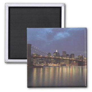Los E.E.U.U., Nueva York, New York City, Manhattan Imán Cuadrado