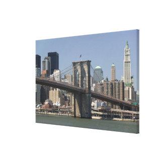 Los E.E.U.U., Nueva York, New York City, Manhattan Impresión En Lona