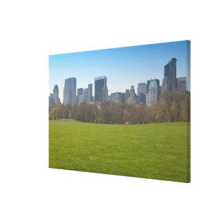 Los E.E.U.U., Nueva York, New York City, Manhattan Impresión De Lienzo