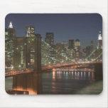 Los E.E.U.U., Nueva York, New York City, Manhattan Tapete De Ratones