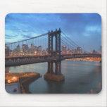 Los E.E.U.U., Nueva York, New York City, Manhattan Alfombrilla De Ratones
