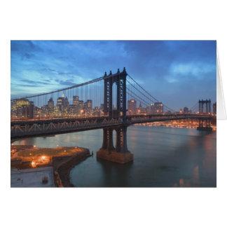Los E.E.U.U., Nueva York, New York City, Manhattan Tarjeton