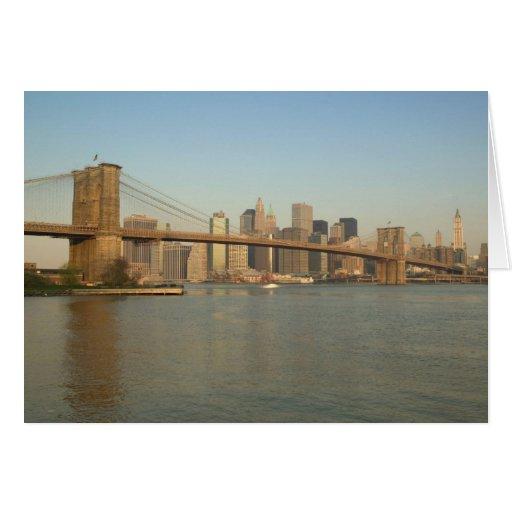 Los E.E.U.U., Nueva York, New York City, Manhattan Tarjeta De Felicitación
