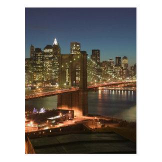 Los E.E.U.U., Nueva York, New York City, Manhattan Tarjeta Postal
