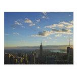 Los E.E.U.U., Nueva York, New York City, paisaje Postal