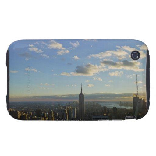 Los E.E.U.U., Nueva York, New York City, paisaje u iPhone 3 Tough Fundas