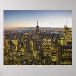 Los E.E.U.U., Nueva York, New York City, paisaje u Posters