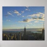 Los E.E.U.U., Nueva York, New York City, paisaje u Poster