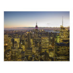 Los E.E.U.U., Nueva York, New York City, paisaje u Postales