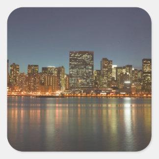 Los E.E.U.U., Nueva York, New York City, Pegatina Cuadrada