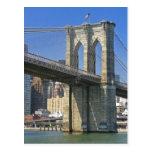 Los E.E.U.U., Nueva York, New York City. Puente de Postal