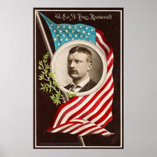 Los E.E.U.U. o [f] A., Pres. Roosevelt [1907] Póster