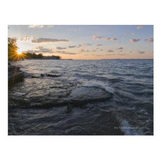 Los E.E.U.U., Ohio, el lago Erie Tarjeta Postal