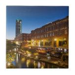 Los E.E.U.U., Oklahoma, Oklahoma City, Bricktown Azulejo Ceramica
