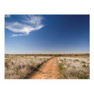 Los E.E.U.U., Oklahoma, prados negros del nacional Postales