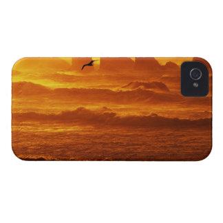 Los E.E.U.U., Oregon, Bandon. Puesta del sol sobre Case-Mate iPhone 4 Cobertura