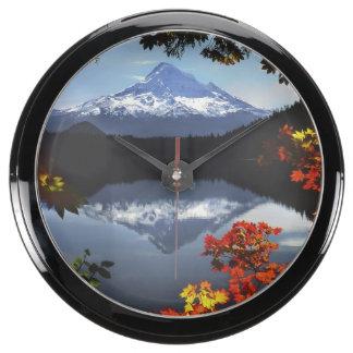 Los E.E.U.U., Oregon, bosque nacional de la capill Reloj Acuario