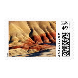 Los E.E.U.U., Oregon, camas fósiles 2 del día de Franqueo